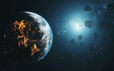 An Approaching Asteroid and the Coming God